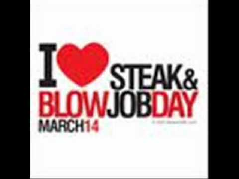 International steak and blow job day are not