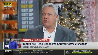 [BREAKING NEWS] Pat Shurmur fired by Giants; had 9-23 record over two seasons with Big Blue