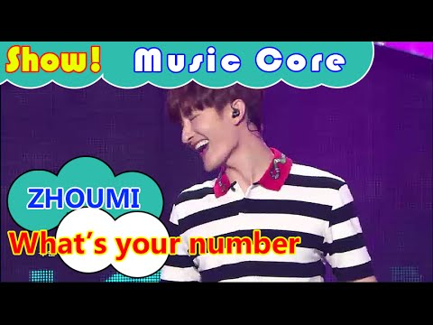 [Comeback Stage] ZHOUMI - What's your number, 조미 - 왓츠 유아 넘버 Show Music core 20160723
