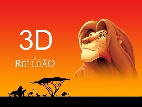 Lion King 3D sample movie