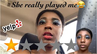 I WENT TO THE WORST REVIEWED MAKEUP ARTIST IN NEW YORK