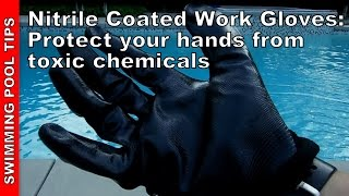 Nitrile Coated Work Gloves by Wells Lamont