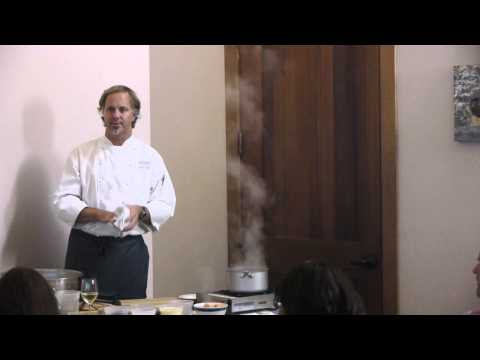 (HD) Bouchaine Chef Series 2013 with Chef Parke Ulrich - Demo