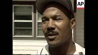 USA: JASPER: KU KLUX KLAN RALLY ENDS IN SCUFFLES (2)