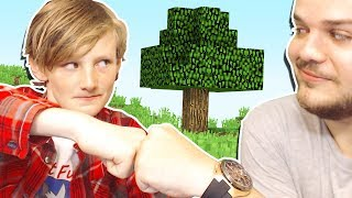 PLAYING MINECRAFT WITH A REAL LIFE FAN!
