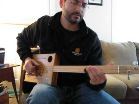 muddy waters i can 39 t be satisfied cigar box guitar blues youtube. Black Bedroom Furniture Sets. Home Design Ideas