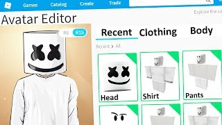 MAKING MARSHMELLO A ROBLOX ACCOUNT