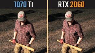 RTX 2060 vs. GTX 1070 Ti (Test in 8 Games)