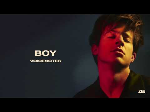 Charlie Puth - BOY [Official Audio]