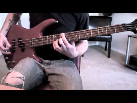 Chevelle - Interlewd (bass guitar cover)