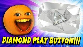 Annoying Orange vs Diamond Play Button!! (10 MILLION SUBSCRIBERS!)