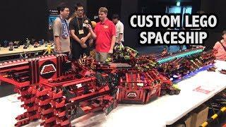 Massive LEGO M-Tron Spaceship | Japan Brickfest 2018
