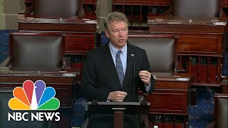 Sen. Rand Paul Objects To 'Sham' Impeachment Trial Of Former President Trump | NBC News NOW