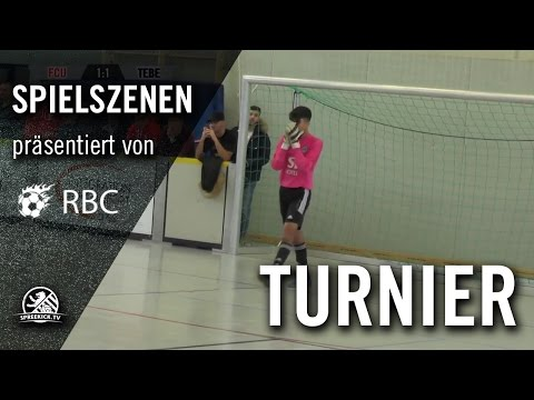 1. FC Union Berlin - Tennis Borussia Berlin (13. Range Bau Cup, U17 B-Junioren, Zwischenrunde) - Spielszenen | SPREEKICK.TV
