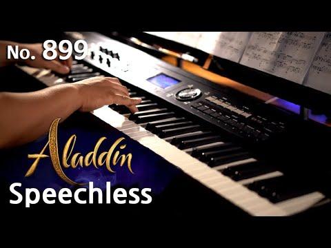 알라딘 OST (Aladdin OST) - Speechless 피아노 연주와 악보 (piano cover and sheet), Naomi Scott, pianoheart