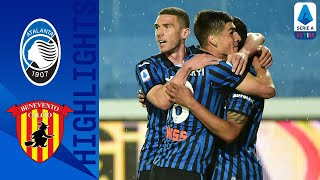 Atalanta 2-0 Benevento | Atalanta defeats Benevento to remain second! | Serie A TIM