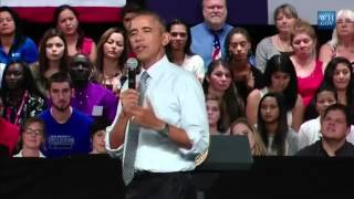 Obama speaks about colleges and safe spaces