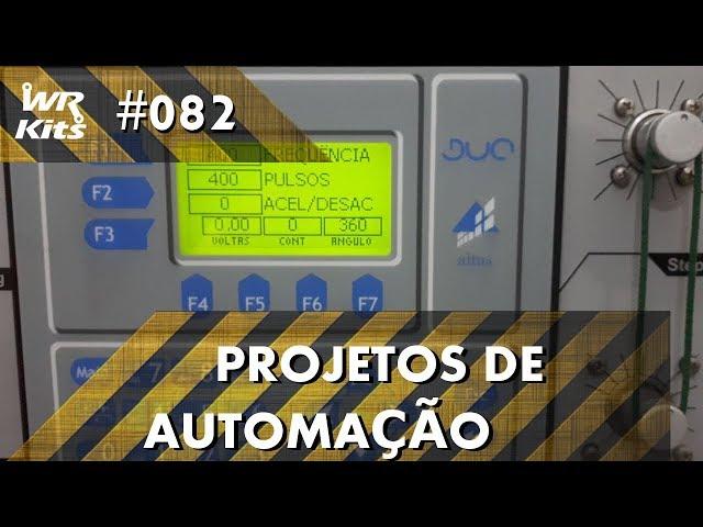 CONTROLE DE ÂNGULO DE MOTOR DE PASSO (parte 2) | Projetos de Automação #082