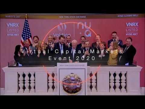 Watch Volition's Capital Market Event, October 20, 2020