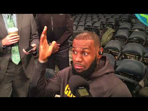 LeBron James admits he was ripping Phil Jackson and thinks DeShaun Watson should be the Browns qu...