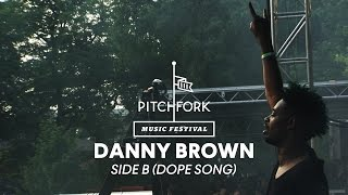 "Danny Brown performs ""Side B (Dope Song)"" - Pitchfork Music Festival 2014"