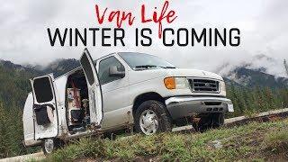 Solving Last Year's Winter Problems | Van Life Winter
