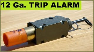 12ga. Camping Trip Alarms - Unusual shell loads!
