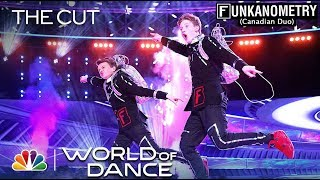 """Funkanometry (Canadian Duo) Performs to """"After Hours"""" - The Cut - World of Dance Season 3"""