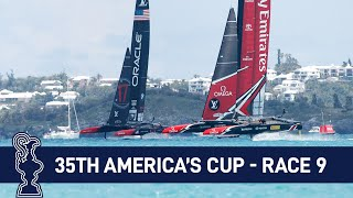 35th America's Cup Race 9 USA vs. NZL | AMERICA'S CUP