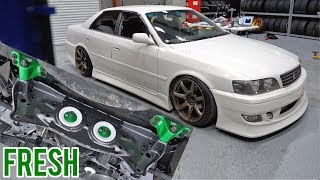 JZX100 SHREDS THE STREETS - Subframe & Boost Up!