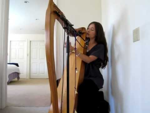 "Ariana Saraha ~ ""In the Heart..."" on harp"