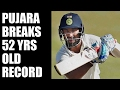 India vs Bangladesh : Pujara breaks 52-year-old record..