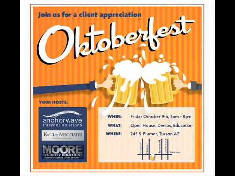 Oktoberfest Client Appreciation Event, Friday, October 9th