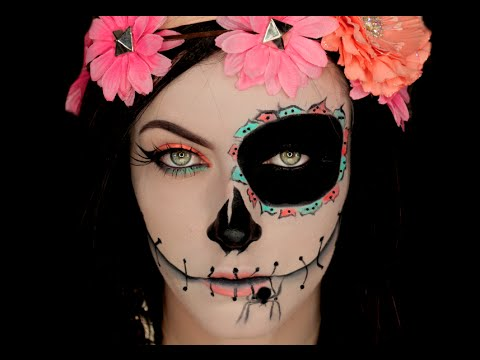 Baixar Sugar Skull Catrina Inspired Halloween Makeup Tutorial