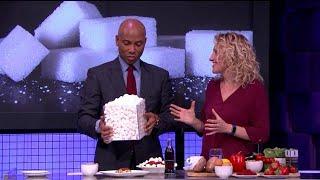 Elke maand eet je gemiddeld 900 suikerklontjes! - RTL LATE NIGHT
