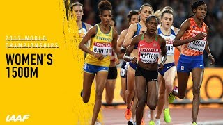 Women's 1500m Final | IAAF World Championships London 2017