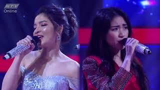 Hòa Minzy rơi nước mắt khi song ca cùng thí sinh   HTV GIỌNG ẢI GIỌNG AI  MÙA 3 GAGA #1