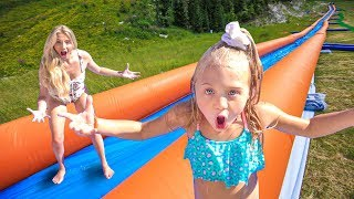 WE TURNED OUR BACKYARD INTO THE WORLD'S LARGEST WATERSLIDE