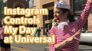 You Control Our Day at Universal Studios via Instagram | Our Black Mirror Homage