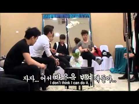 [ENG] All about Super Junior - Candid camera Min Kyu Won Wook
