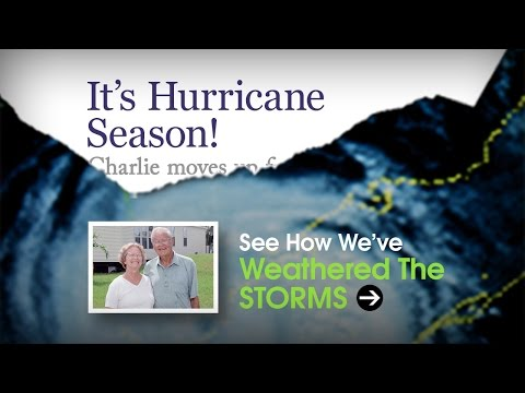 Watch Video of OUR HOMES WEATHER THE FORCES OF NATURE!!