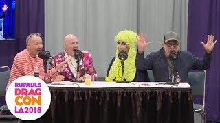 Trinity! Art & Pan Pan! Alexis! Morgan! Detox! From DragCon LA! The WOW Report for Radio Andy!