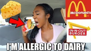 Letting the Person in Front of Me Decide What I Eat for 24 hours | Allergic to Dairy and Gluten