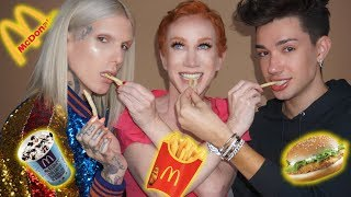 NASTY McDonalds MUKBANG feat. KATHY GRIFFIN & JAMES CHARLES