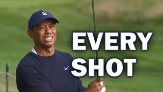 Tiger Woods Second Round at the 2020 PGA Championship | Every Shot