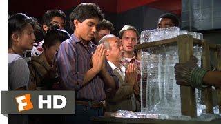 The Karate Kid Part II - Breaking the Ice Scene (4/10) | Movieclips