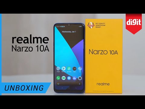 Realme Narzo 10A Unboxing