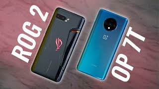 ROG Phone 2 vs OnePlus 7T FULL COMPARISON after 3 Weeks Usage🔥