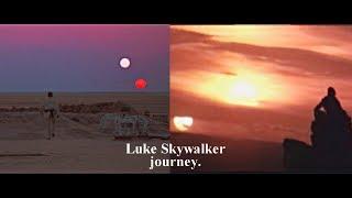 Luke Skywalker's journey.