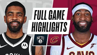 NETS at CAVALIERS | FULL GAME HIGHLIGHTS | January 22, 2021